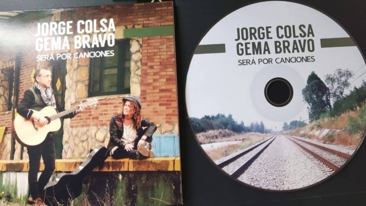 """""""Será por Canciones"""" primer disco de Jorge Colsa y Gema Bravo"""